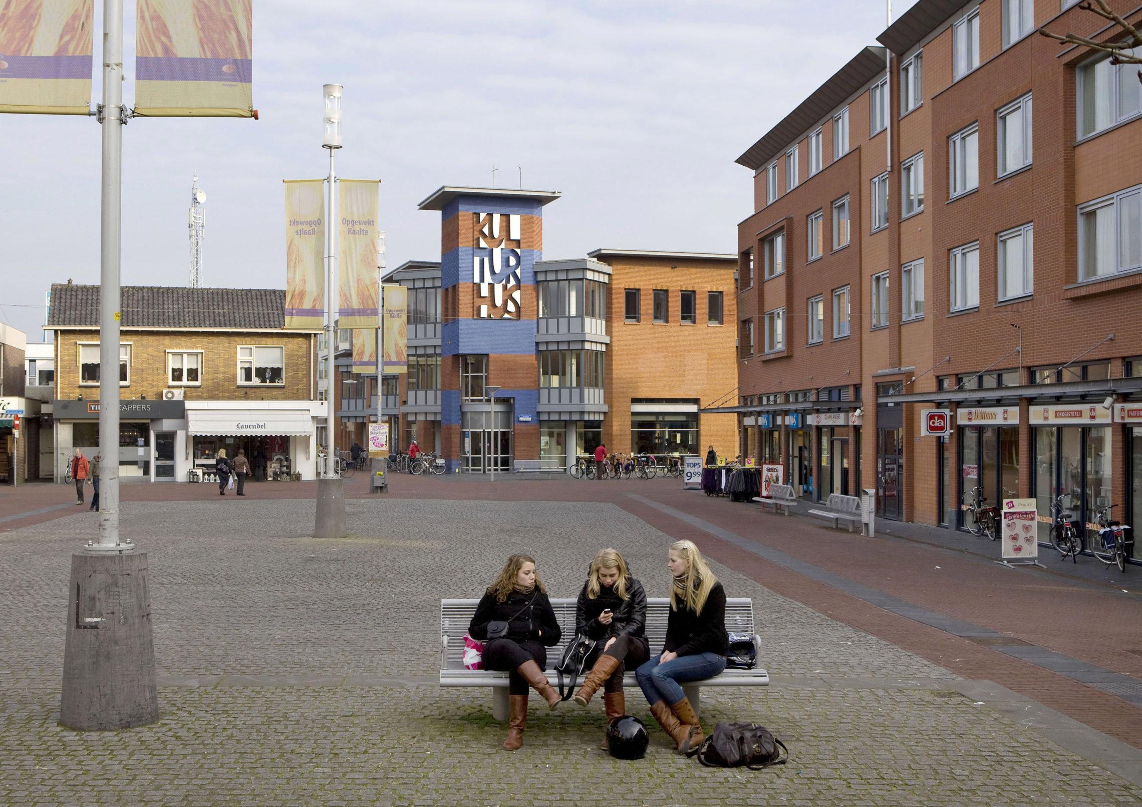 Raalte, Grote Markt, The Netherlands, 2009
