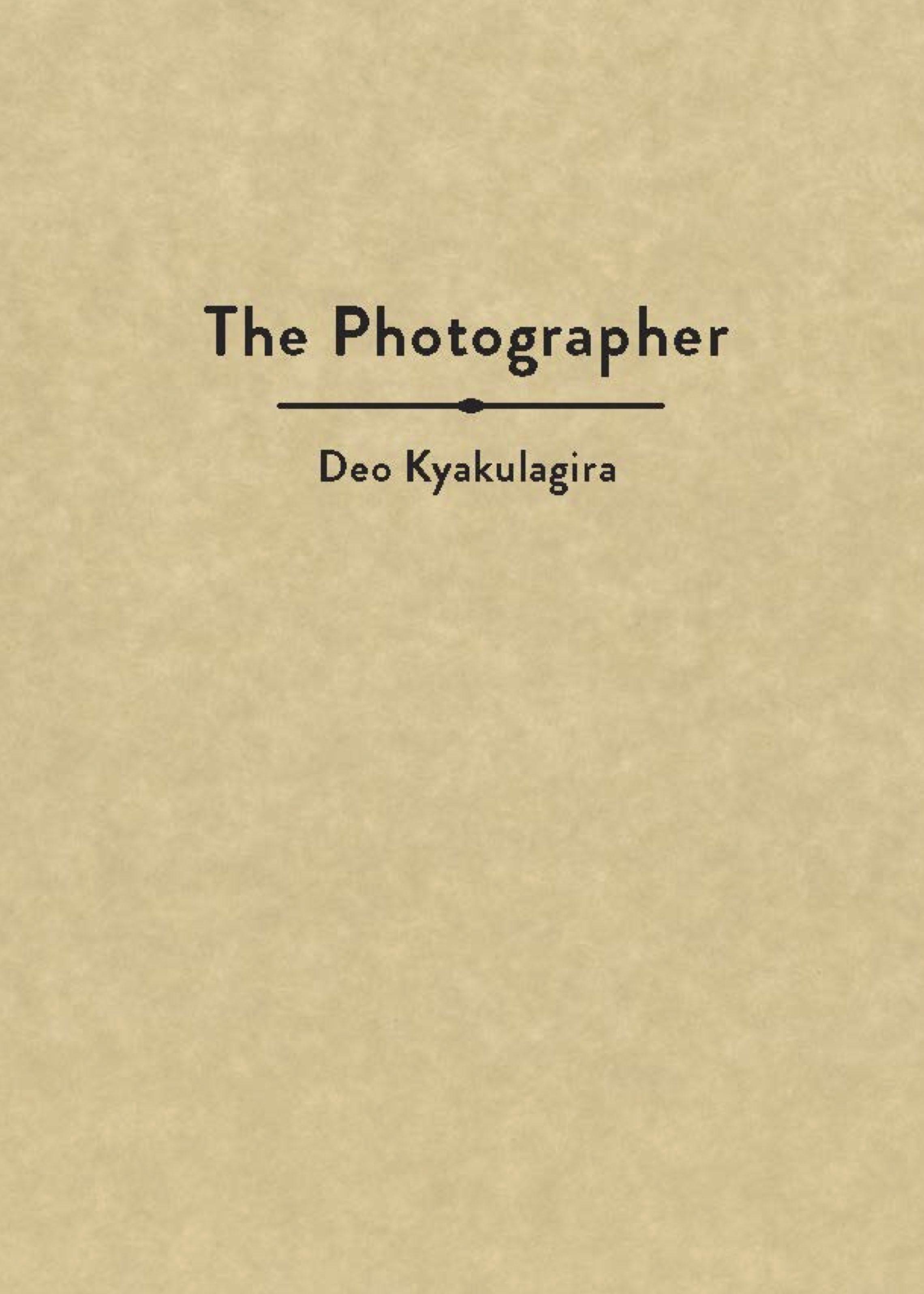 EBI- The Photographer Cover