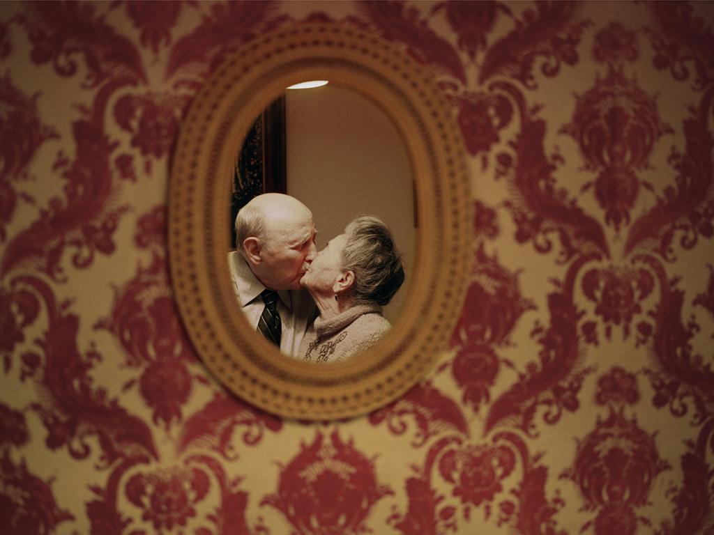 Yevgeniy and Lyubov Kissin Midwood, Brooklyn Married on June 29, 1941 CREDIT:Lauren Fleishman